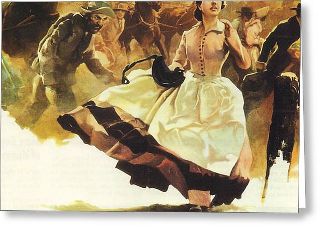 Gone With The Wind Greeting Card by Nomad Art And  Design