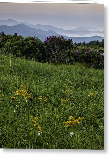 Carver Greeting Cards - Good Morning at Carvers Gap II Greeting Card by Rob Travis