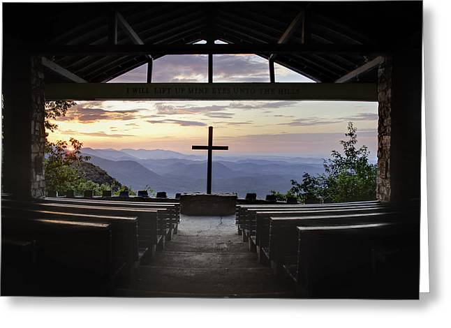Religious Prints Photographs Greeting Cards - Good Morning at Pretty Place Greeting Card by Rob Travis
