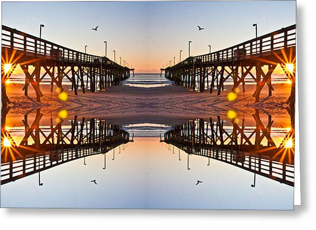 Topsail Island Greeting Cards - Good Morning Greeting Card by Betsy A  Cutler