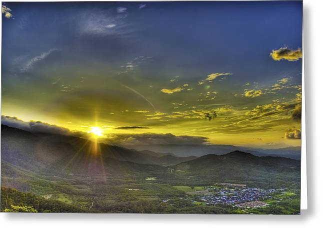 New Greeting Cards - Good Morning Greeting Card by Calvin Teh