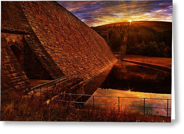 Good Morning Derwent Greeting Card by Nigel Hatton