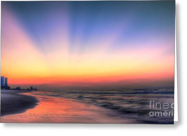Good Morning Greeting Card by Jeff Breiman