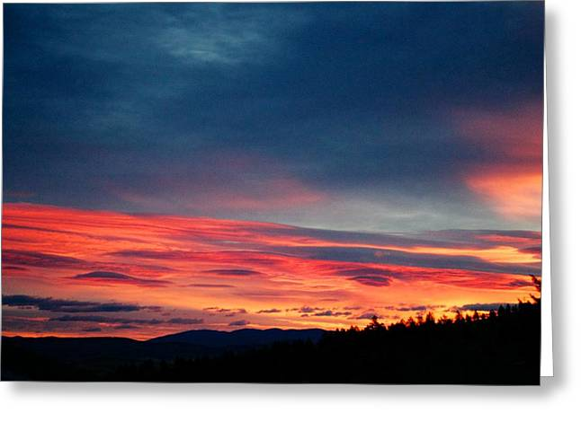 Sunset Posters Greeting Cards - Good Morning Sun Shine Greeting Card by Kevin Bone