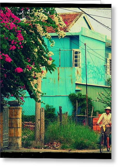 Old House Photographs Greeting Cards - Good Morning Vietnam Greeting Card by Danny Van den Groenendael
