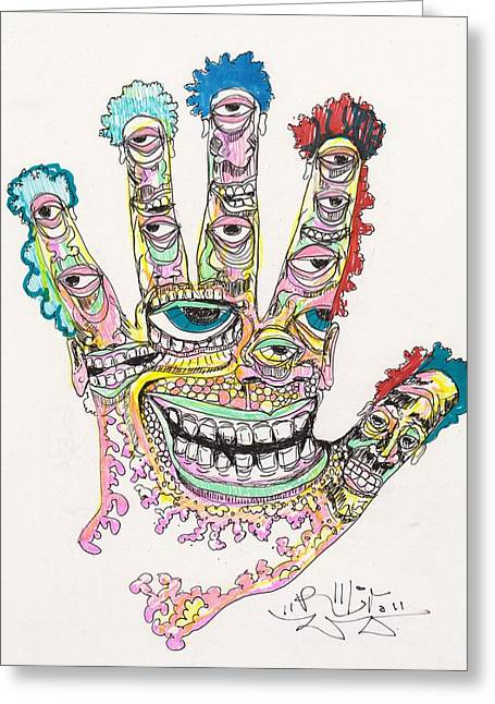 Hallucination Greeting Cards - Good Time Greeting Card by Robert Wolverton Jr