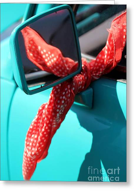 Car Doors Greeting Cards - Good Times Greeting Card by Sophie Vigneault