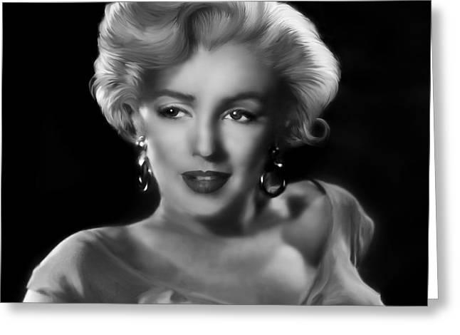 Goodbye Norma Jean Greeting Card by Julie L Hoddinott