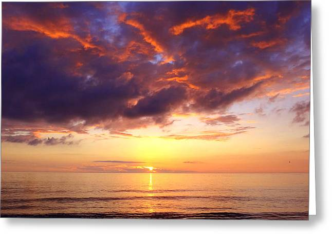 Nature Phots Greeting Cards - Goodbye Sun Greeting Card by Jeremy Smith