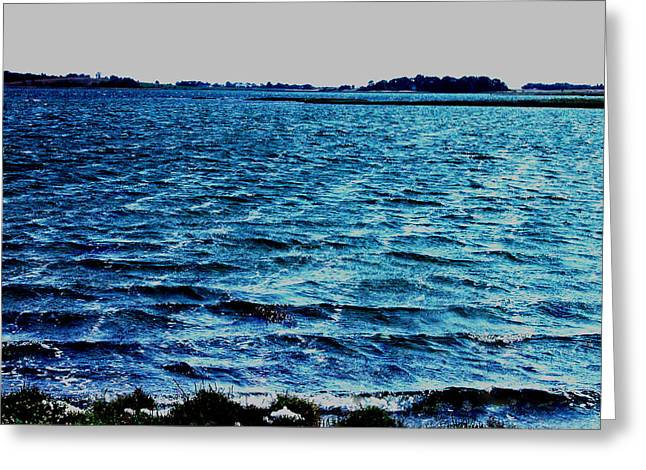 print Photographs Greeting Cards - Goodmorning Waves Greeting Card by Colette V Hera  Guggenheim