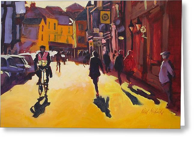 Goodramgate Sunburst Greeting Card by Neil McBride