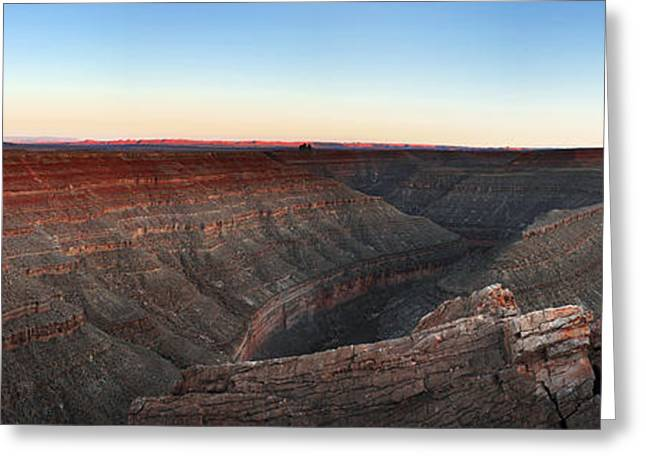 Viewpoint Greeting Cards - Gooseneck Canyon Greeting Card by Jane Rix