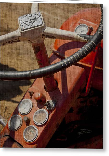 Old Relics Greeting Cards - Got Some Life in er Yet Greeting Card by Barbara  White