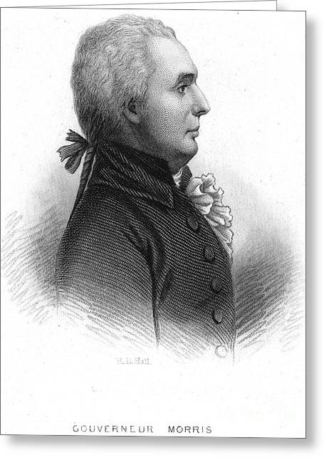 Statesman Greeting Cards - Gouverneur Morris Greeting Card by Granger