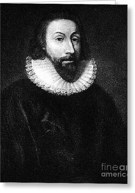 Winthrop Greeting Cards - Governer John Winthrop Greeting Card by Extrospection Art