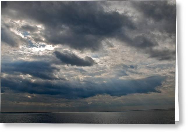 Gozo Skies Greeting Card by Eric Tressler