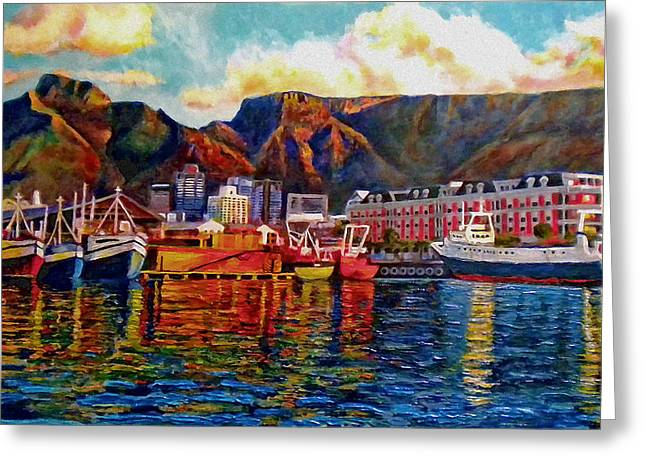 Cape Town Greeting Cards - Grace at the Table 2.0 Greeting Card by Dr Michael Durst