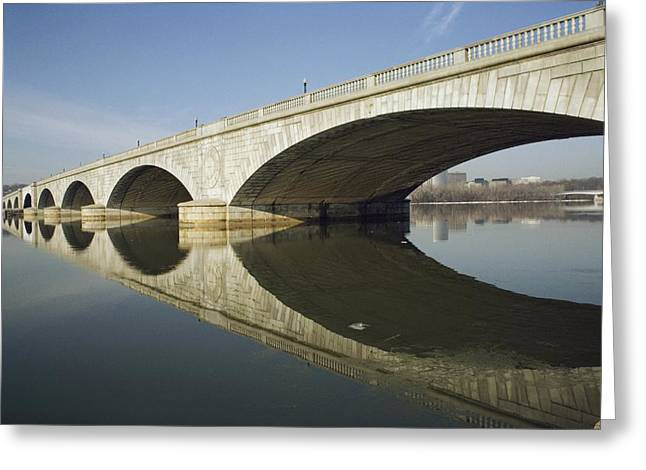 Arlington Greeting Cards - Graceful arches of the Greeting Card by Stephen St. John