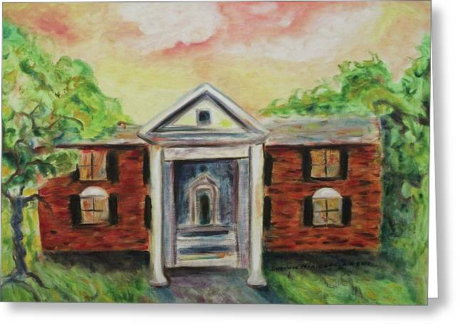 Suzanne Marie Leclair Paintings Greeting Cards - Graceland Greeting Card by Suzanne  Marie Leclair