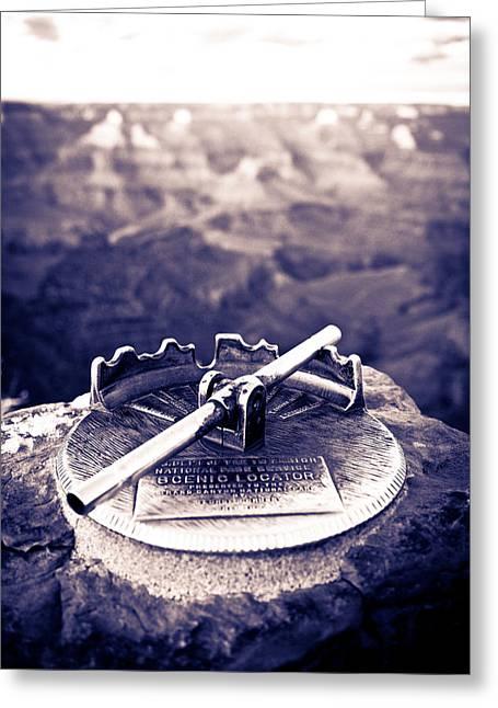 Grand Canyon - Sight Tube Greeting Card by Scott Sawyer