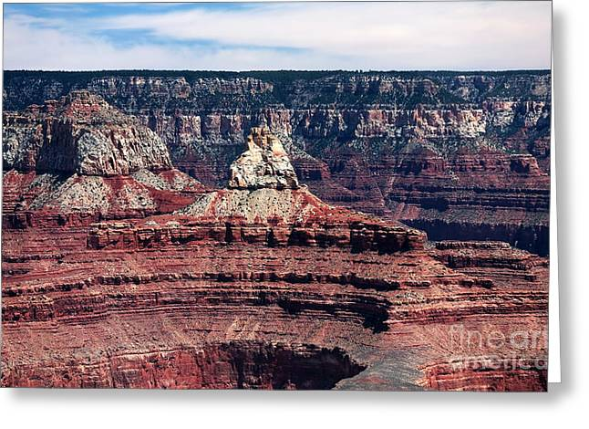 The Grand Canyon Greeting Cards - Grand Canyon Layers Greeting Card by John Rizzuto