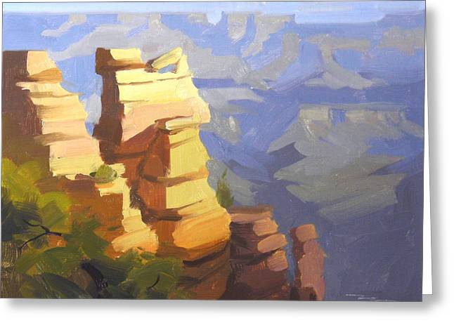 Grand Canyon Greeting Card by Richard Robinson