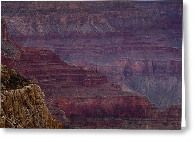 National Photographs Greeting Cards - Grand Canyon Ridges Greeting Card by Andrew Soundarajan