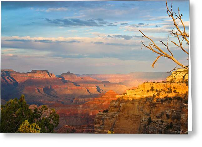 Heidi Greeting Cards - Grand Canyon Splendor Greeting Card by Heidi Smith