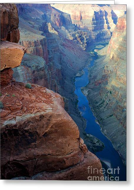 Abyss Greeting Cards - Grand Canyon Toroweap Greeting Card by Bob Christopher