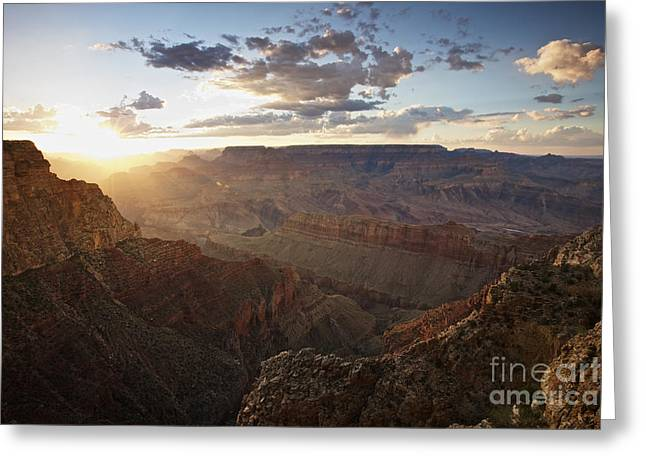 Grand Canyon, West Of Lipan Point Greeting Card by Terry Moore