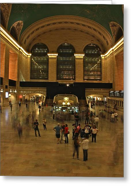 Terminal Greeting Cards - Grand Central Terminal Greeting Card by Jordan  Drapeau