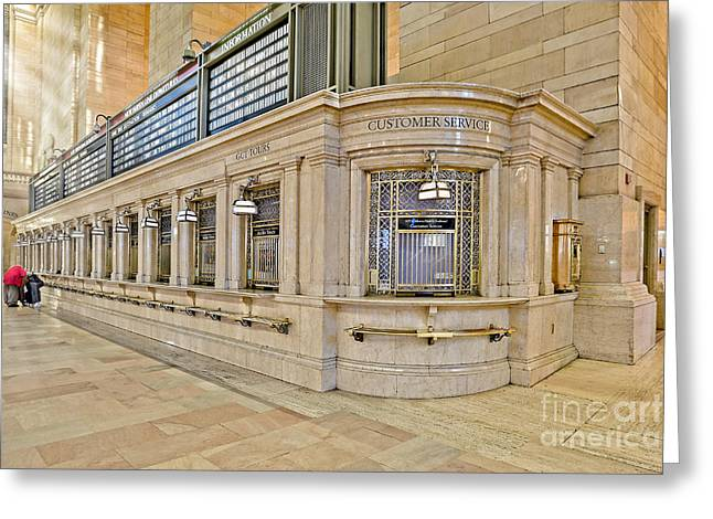 Grand Central Terminal Greeting Card by Susan Candelario