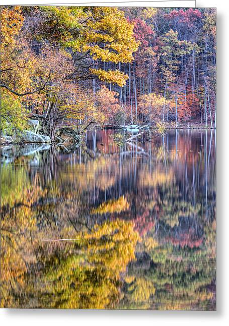 Hunting Camp Greeting Cards - Grand Reflections Greeting Card by JC Findley