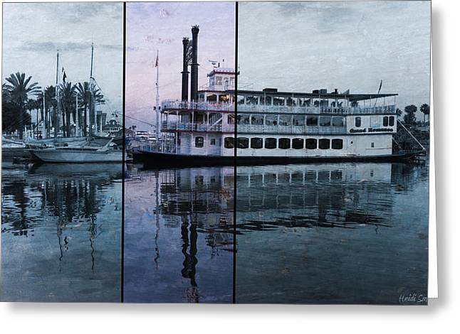Paddle Wheel Greeting Cards - Grand Romance II Greeting Card by Heidi Smith
