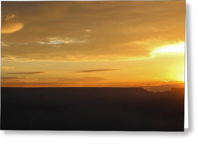 The Grand Canyon Greeting Cards - Grand Sunrise Greeting Card by Heidi Smith