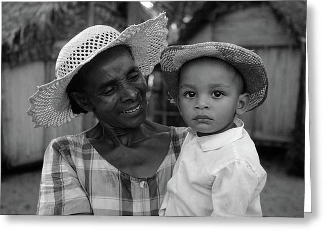 Nana Greeting Cards - Grandmotherly Love Greeting Card by Bruce J Robinson