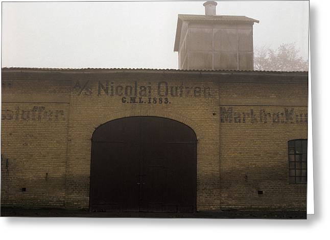 Jutland Greeting Cards - Granery in Fog Greeting Card by Jan Faul