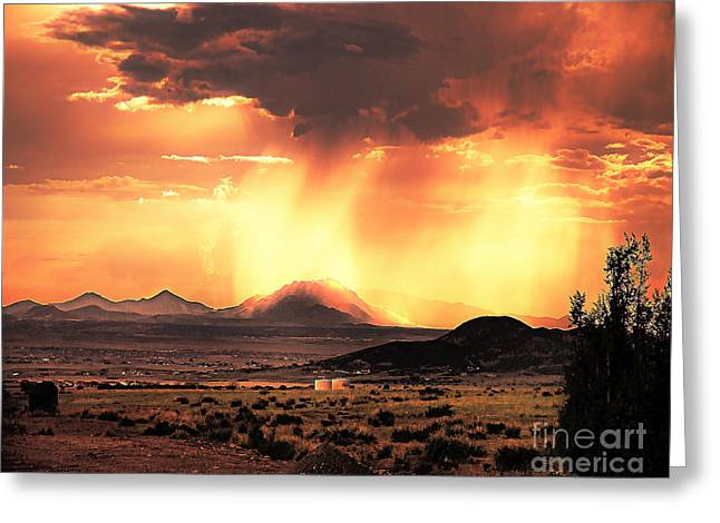 Prescott Greeting Cards - Granite Mountain Greeting Card by Arne Hansen