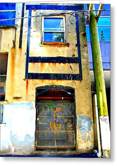 Back Alley Greeting Cards - Granville Alley Greeting Card by Randall Weidner