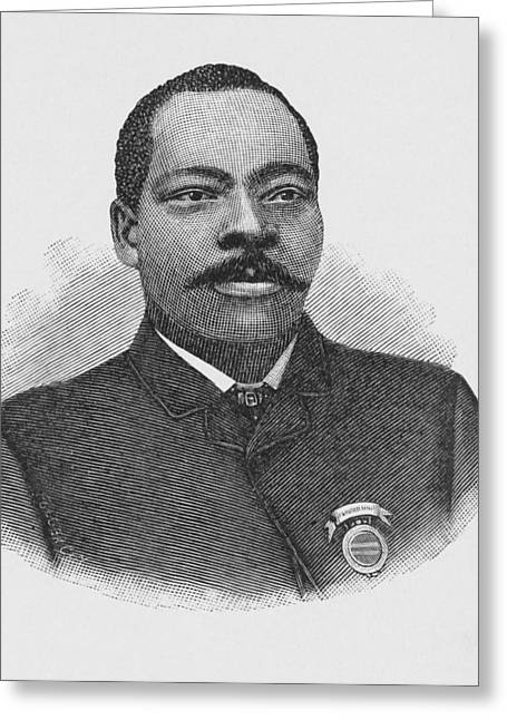 Granville Woods, Us Inventor Greeting Card by Schomburg Center For Research In Black Culturenew York Public Library