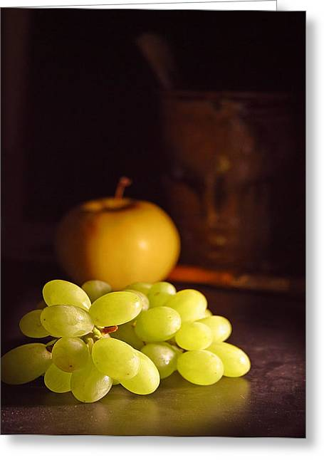 Wine Photographs Greeting Cards - Grapes  Greeting Card by Davor Sintic