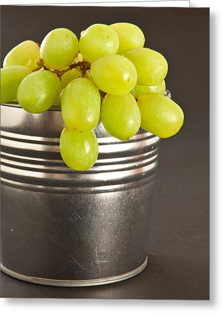 Bunch Greeting Cards - Grapes Greeting Card by Tom Gowanlock