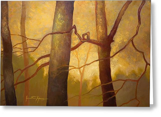 Jonathan Howe Greeting Cards - Graphic Trees Greeting Card by Jonathan Howe