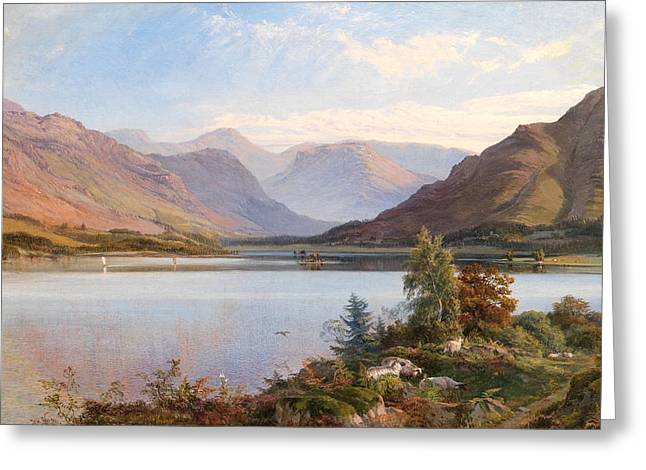 Grasmere Greeting Card by Henry Moore