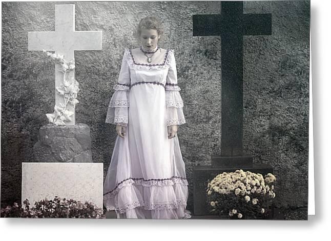 graves Greeting Card by Joana Kruse