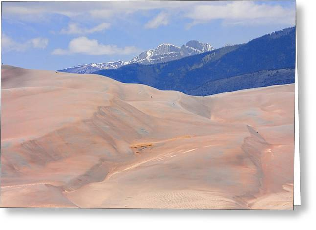 Great Sand Dunes National Preserve Greeting Cards - Great Colorado Sand Dunes Greeting Card by James BO  Insogna