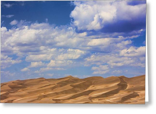 """nature Photography Prints"" Greeting Cards - Great Colorado Sand Dunes Mixed View Greeting Card by James BO  Insogna"