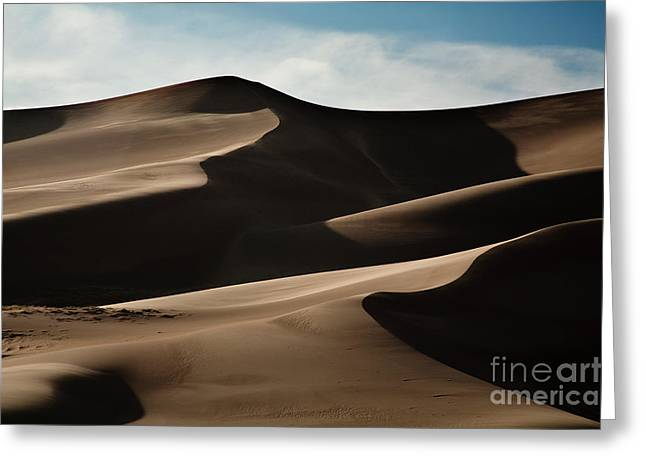Sand Dunes National Park Greeting Cards - Great Sand Dunes Greeting Card by Keith Kapple