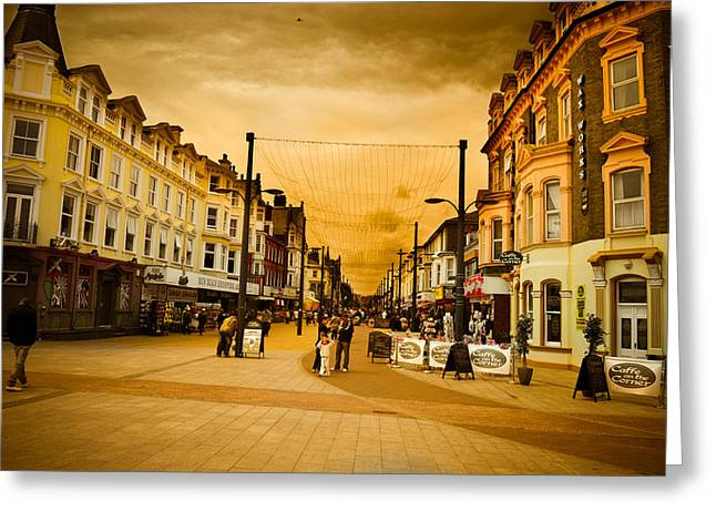 Great Yarmouth Greeting Card by Ruth MacLeod