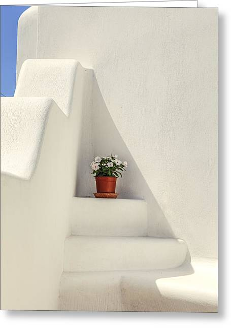 Holiday Decoration Greeting Cards - Greece Greeting Card by Joana Kruse